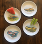 Melamine Airplane Party Plates | Set of 4