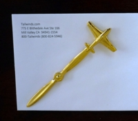 Airplane Propeller Letter Opener