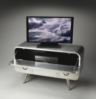 Aviation Style Media & TV Console | <font color=red> Cyber Deal </font color>