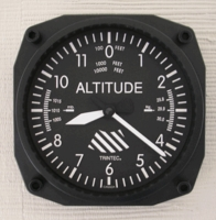 Altimeter Airplane Clock | <font color=red>Santa Saver </font color>