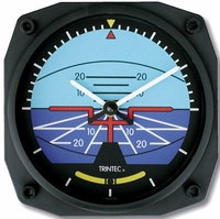 Attitude Indicator Wall Clock