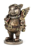 Aviator Pig Figure