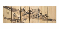 B-17 Flying Fortress Indoor Outdoor Art - Medium