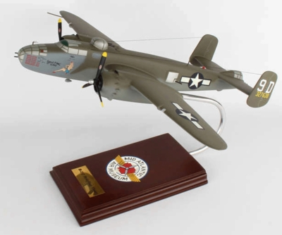 B-25J Briefing Time Model