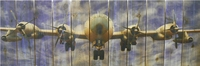 B-50 Super Fortress Indoor Outdoor Art - Large