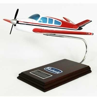 Beech V-35 Bonanza Model Airplane 1/24 Scale