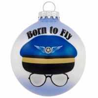 Born To Fly Ornament | <font color=red>Santa Savings </font color>