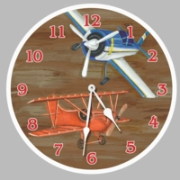 Child's Airplane Clock