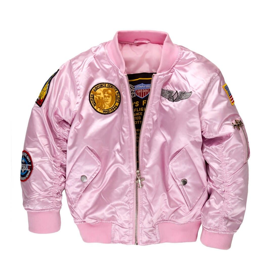 8df037935 Child's Pink MA-1 Flight Jacket