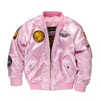 Child's Pink MA-1 Flight Jacket
