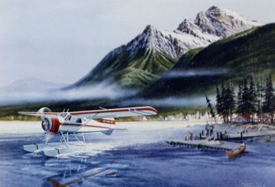 de Havilland Beaver Airplane Art Print