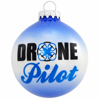 Drone Pilot Ornament| <font color=red>Santa Savings </font color>