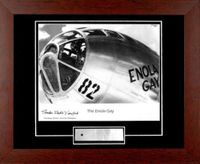 Signed Enola Gay Print by Dutch Van Kirk