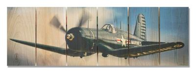 Corsair In Flight Indoor/Outdoor Art - Medium