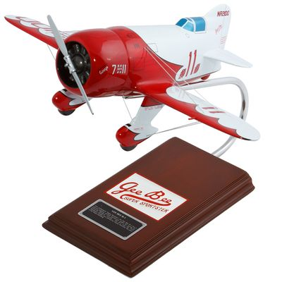 Gee Bee Racer R-1 Model Airplane 1/20 Scale
