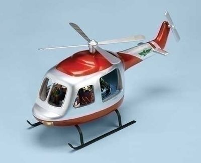 Helicopter Musical Decoration - Must See Interior