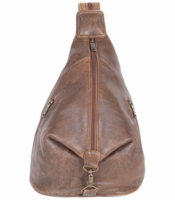 Aero Squadron Leather Slingback Backpack