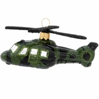 Military Helicopter Ornament