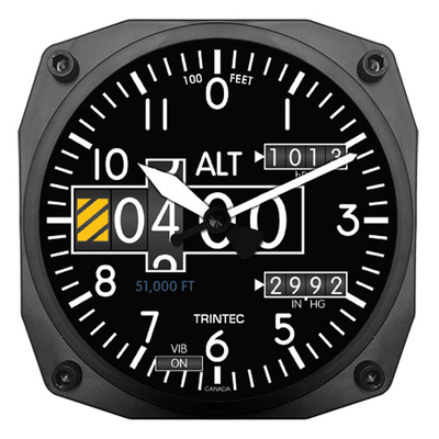 Modern Altimeter Wall Clock | <font color=red>Just $5 to Ship USPS Priority </font color>