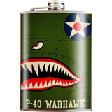 P-40 Warhawk Flask <font color=red>Special Sale</font>