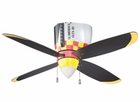 P-51 Mustang Ceiling Fan | Low Price Match Guarantee