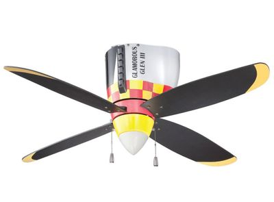 P 51 Mustang Ceiling Fan Low Price Match Guarantee