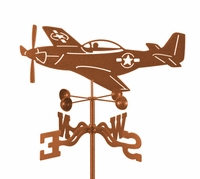 P-51 Mustang Weather Vane