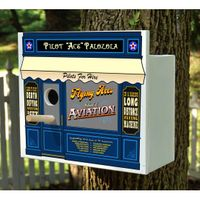 Personalized Aviation Birdhouse