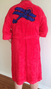 Plush Robe with Biplane Design