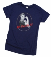 Rosie The Riveter T-Shirt - Ladies Fit