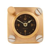 Replica Spitfire Airplane Desk Clock