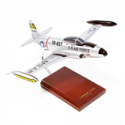 T-33 Shooting Star USAF Model Airplane