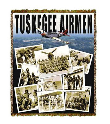 Tuskegee Airmen Throw or Blanket
