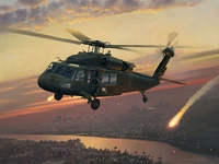 UH-60 Black Hawk Canvas
