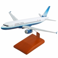 United Airlines A320 Model Airplane