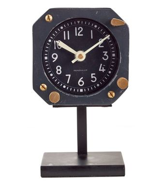 Vintage Airplane Desk Clock