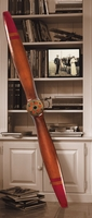 Large Airplane Propeller - French Antique Brown
