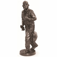 WW II Flyboy Sculpture