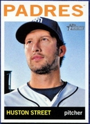 2013 Topps Heritage Huston Street Baseball Card