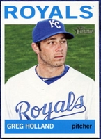 2013 Topps Heritage Greg Holland Baseball Card