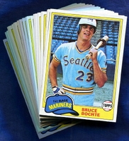 1981 Topps Seattle Mariners Baseball Card Team Set