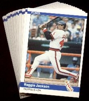 1984 Fleer Anaheim (California) Angels Baseball Card Team Set