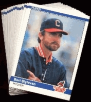 1984 Fleer Cleveland Indians Baseball Card Team Set