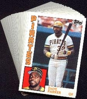 1984 Topps Pittsburgh Pirates Baseball Card Team Set