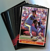 1985 Donruss Seattle Mariners Baseball Card Team Set