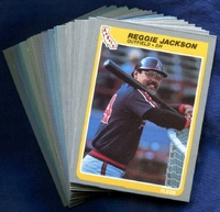 1985 Fleer Anaheim (California) Angels Baseball Card Team Set