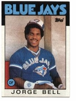 1986 Topps Toronto Blue Jays Baseball Card Team Set