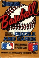 1987 Donruss Baseball Cards Wax Pack