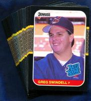 1987 Donruss Cleveland Indians Baseball Card Team Set