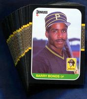 1987 Donruss Pittsburgh Pirates Baseball Card Team Set